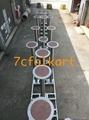 Lion dance equipment benches, table, tub, high pole, quincuncial piles 8