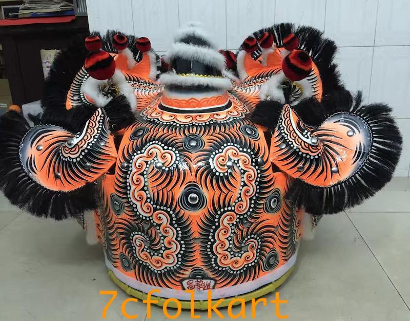 Good quality and beautiful traditional futsan style lion heads 8
