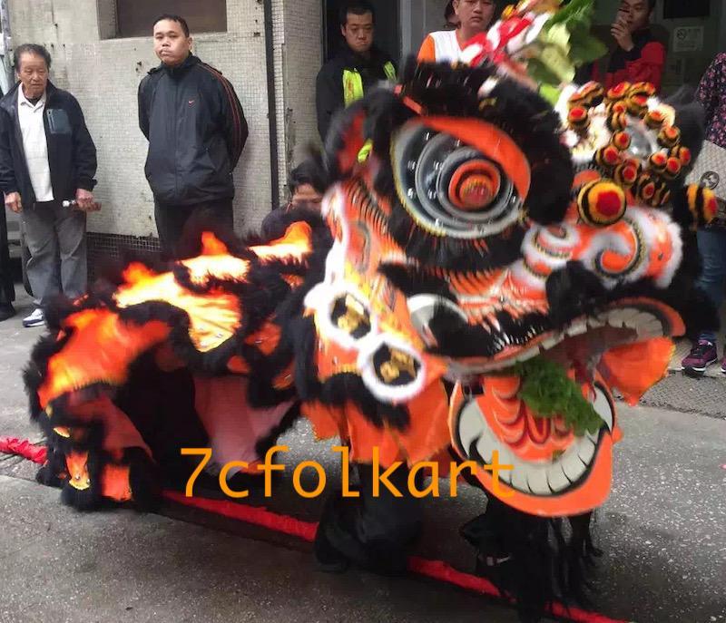 Good quality and beautiful traditional futsan style lion heads 7