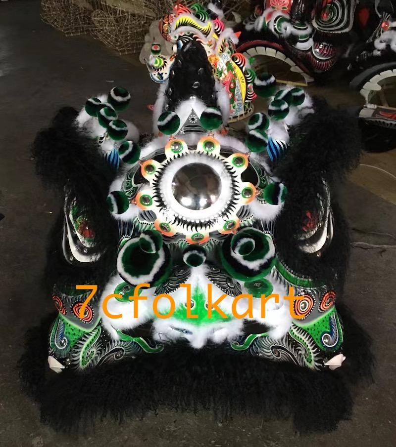 Good quality and beautiful traditional futsan style lion heads 5