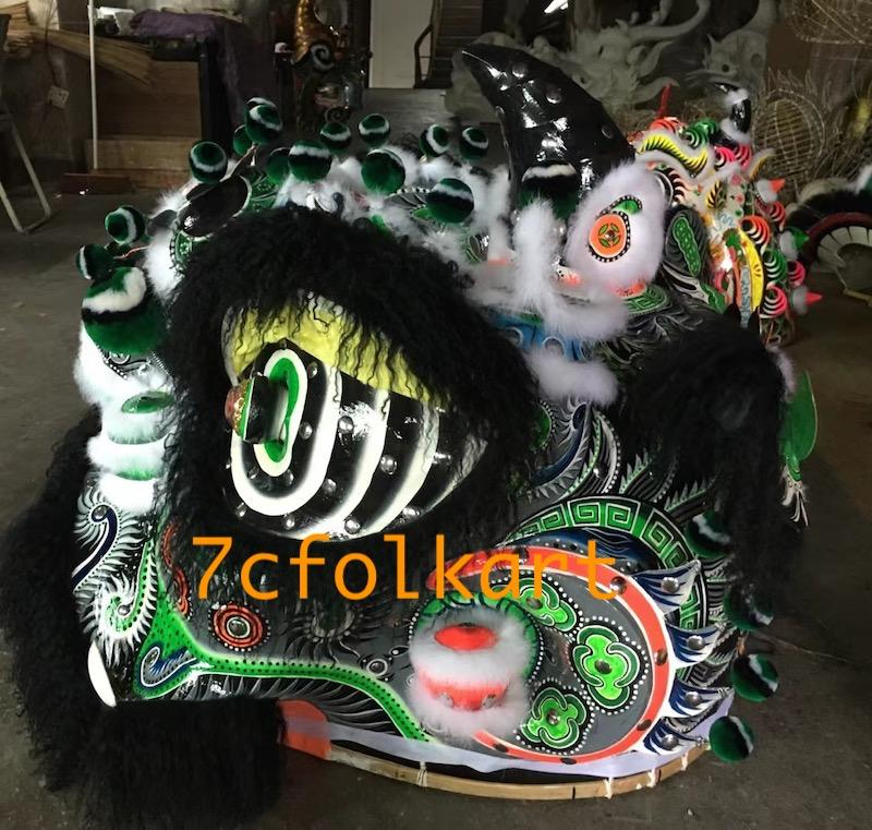 Good quality and beautiful traditional futsan style lion heads 6
