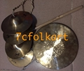 Gong and cymbals for dragon dancing