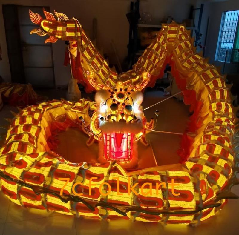 LED DRAGON with lights inside dragon body 1