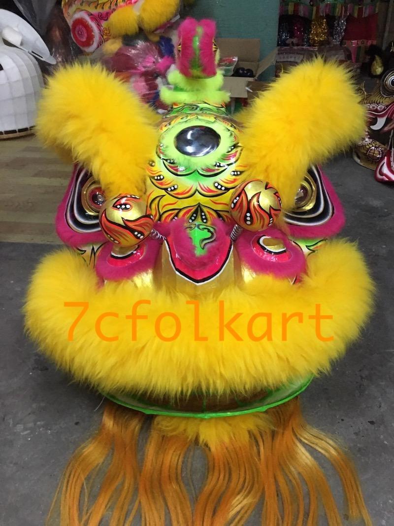 Traditional hoksan shape lion head 2