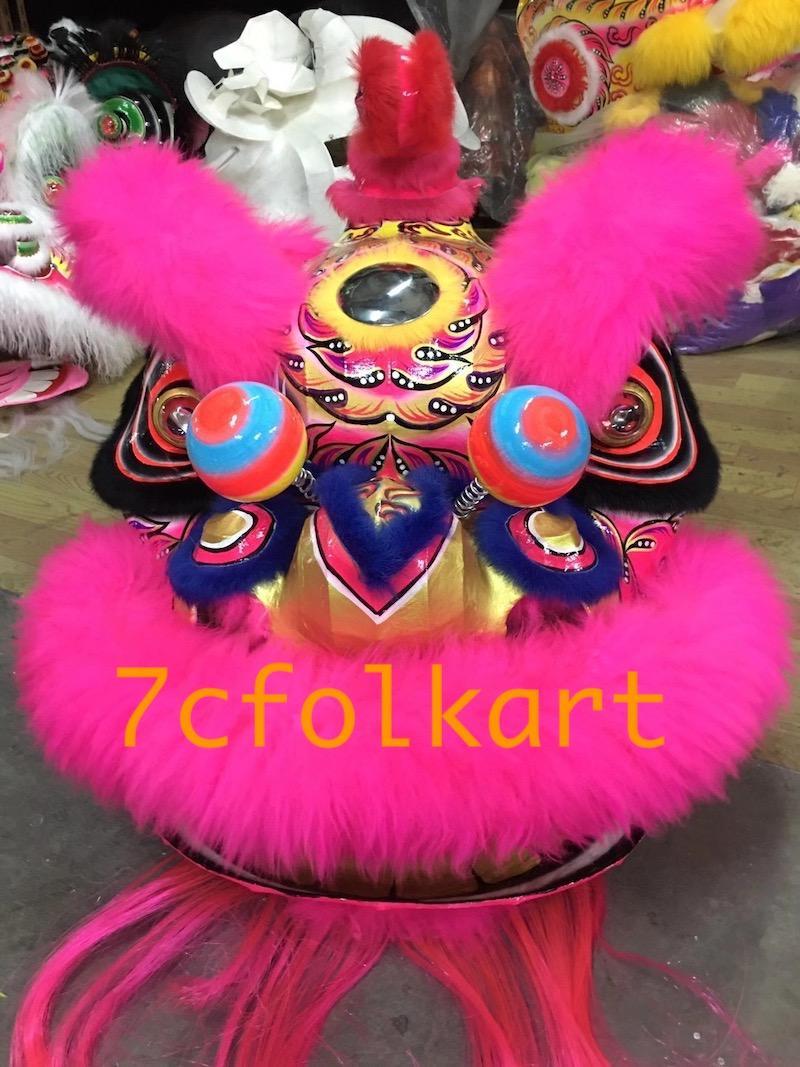Traditional hoksan shape lion head 1