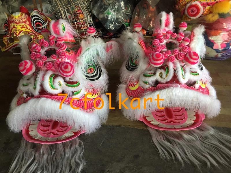 Ram fur traditional hoksan shape lion heads of good quality 2