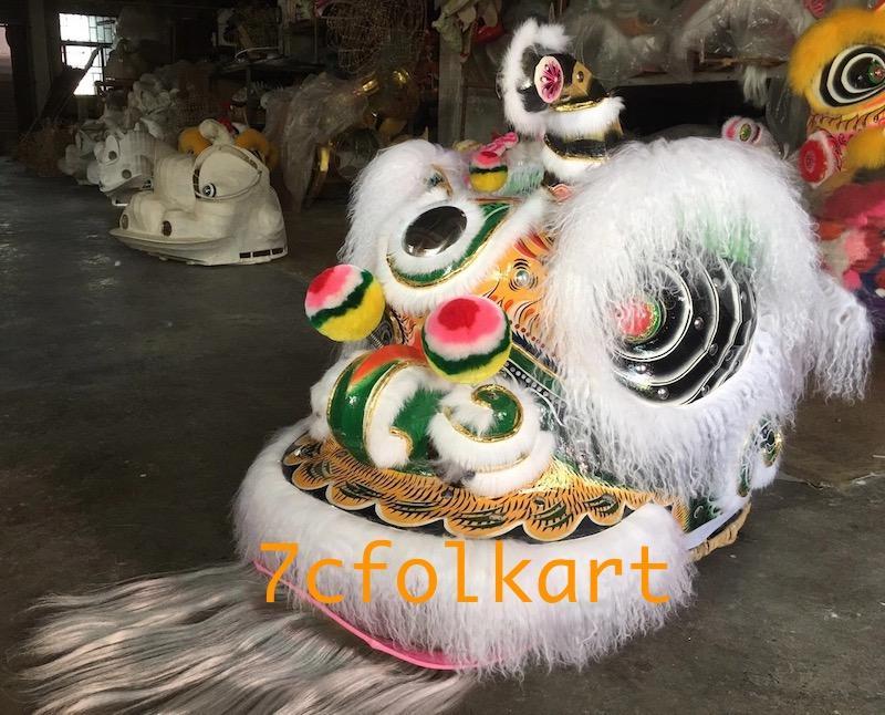 Ram fur traditional hoksan shape lion heads of good quality 1