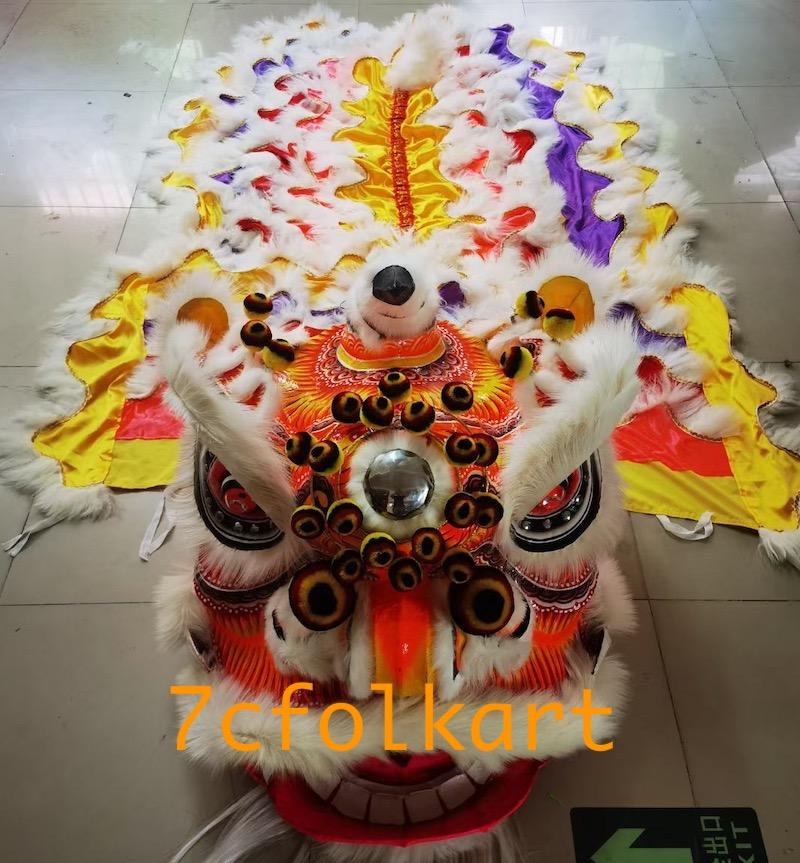 Futsan style lion head with tail 4