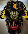 Futsan style lion head with tail
