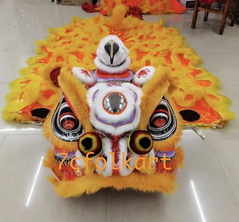 Futsan style lion head with tail 1