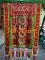 Embroidered banner for lion dance