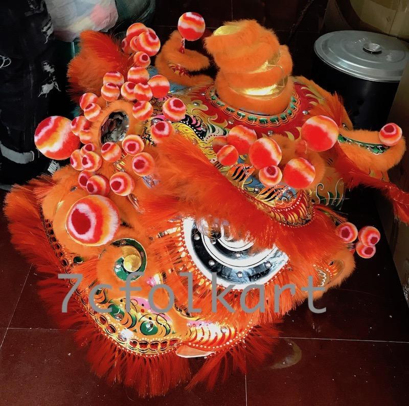 Traditional pak wan lion heads 2