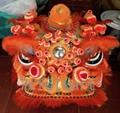 Traditional pak wan lion heads