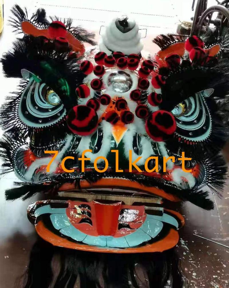 Traditional pak wan lion heads 3