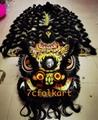 Beautiful painting Futsan style traditional lion head