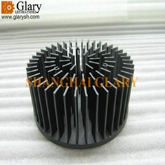 130mm 30W cold forged cooler aluminum 1070 led heat sinks