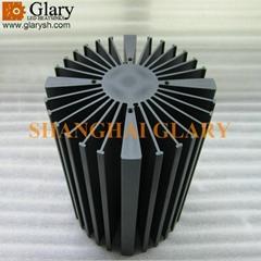 160mm high power led bay light heatsink cooler