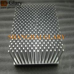 GLR-PF-125125 125mm square forged led heatsink
