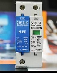 V20-C/1+NPE單相初級安全防護器
