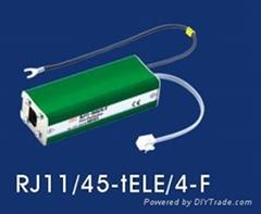 RJ45S-ATM/8-F千兆网专用防雷器