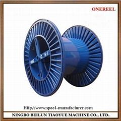 Corrugated steel reel