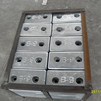 防腐蝕鋅合金陽極塊 2
