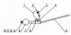高壓輸電線路防繞擊雷避雷針