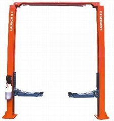 Launch TLT235SC(U) Economical Clear Floor Two Post Lift CEstandard configuration