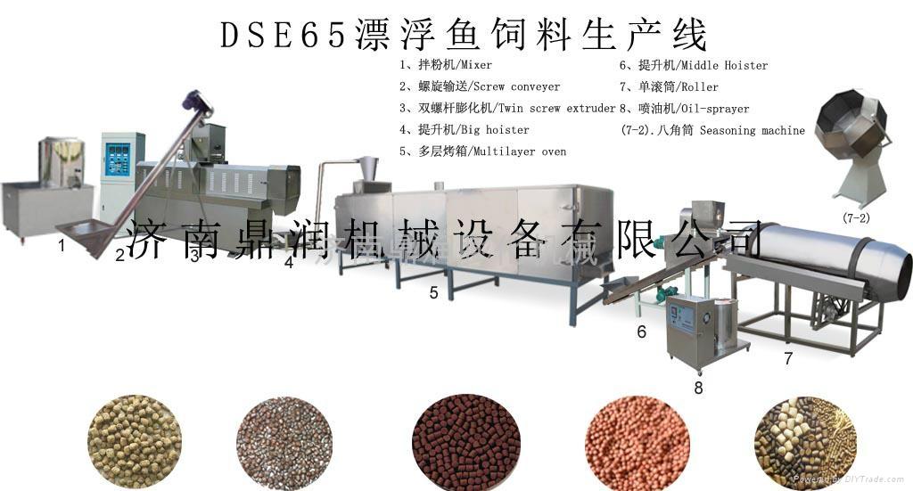 水产膨化鱼饲料生产线 2