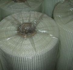 PVC塑胶地板专用玻璃纤维网格布
