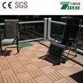 300x300mm wpc DIY floor tile Outdoor easy install  floor 3