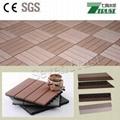 300x300mm wpc DIY floor tile Outdoor easy install  floor 1