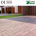 300x300mm wpc DIY floor tile Outdoor easy install  floor 2