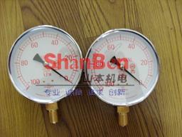 供應日本進口山本計器 普通型壓力計 1