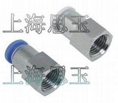內螺紋直通PCF04-M5 內牙1分2分3分4分 6-02 8-03 10-04 12-03