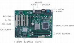 GK-MG41-5P雙Intel千兆網口6串口5PCI工業母