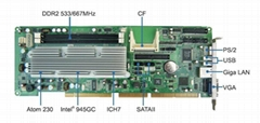 GK-Q230C全長型凌動無風扇低功耗工業主板
