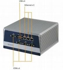 三網口雙顯示工控BOX寬溫整機