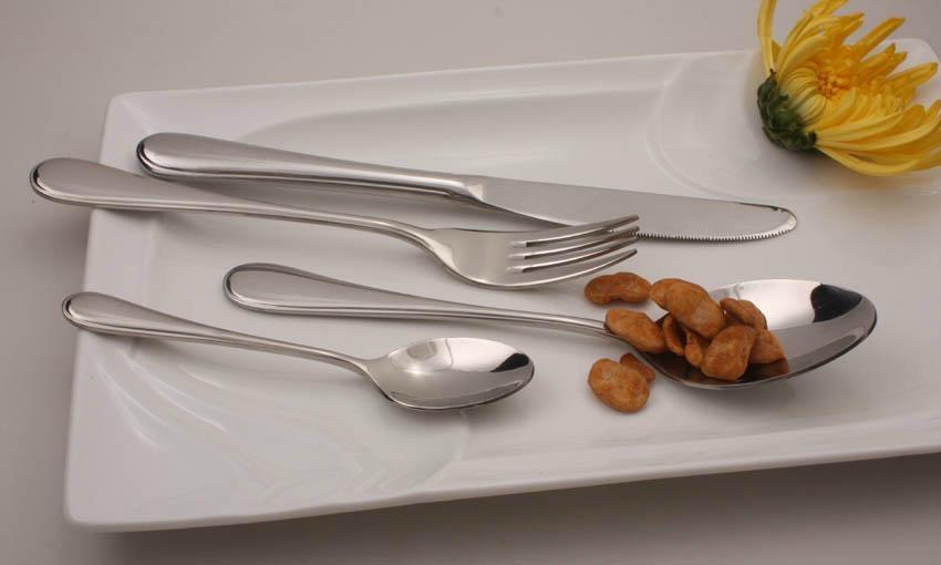 stainless steel dinnerware set 1