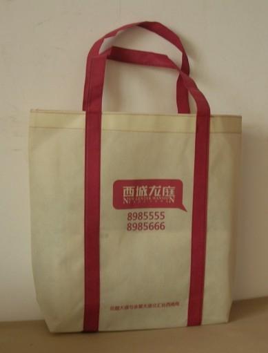 廣州禮品袋廣告腹膜無紡布袋 1