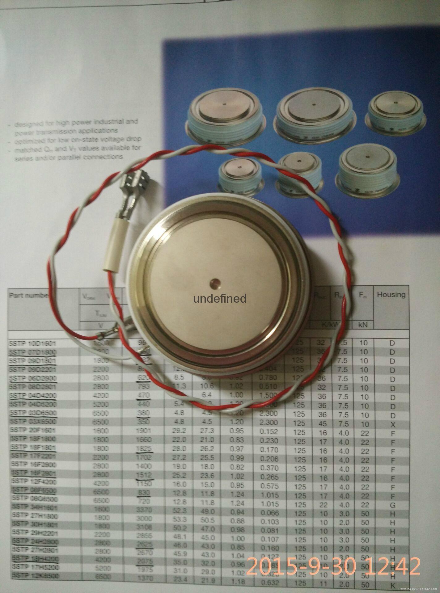 ABB晶闸管5STP04D4200可控硅5STP08F6500 1