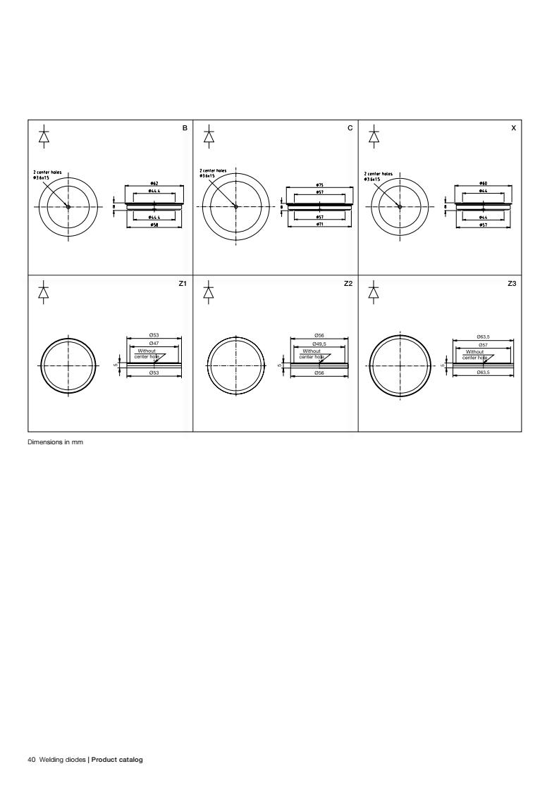 ABB焊接二极管   5SDD71B0200 5