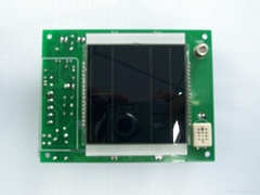 Integrated ceiling controller board