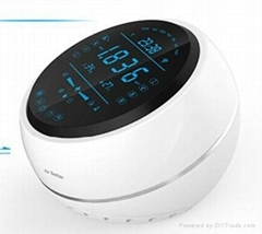 wireless desktop air quality ventilator controller