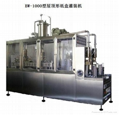 Red Wine Fully Automatic Carton Filling Packaging Machine