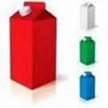 屋頂盒液體灌裝機酸奶牛奶設備1