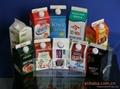 屋顶盒液体灌装机酸奶牛奶设备13940406166 2