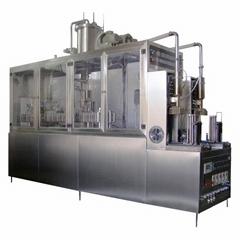 半自动屋顶纸盒液体包装机沈阳北亚生产