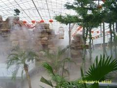 生態園景觀人造霧