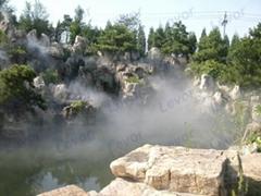 专业假山造雾